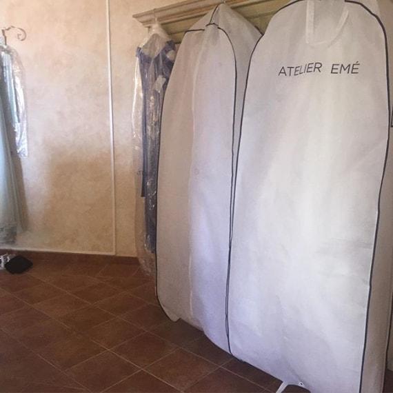 L'abito Atelier Emé di Melissa Satta
