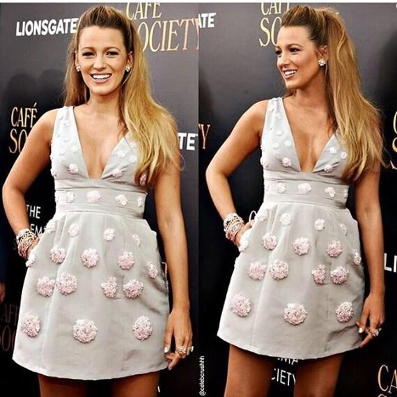 """L'abito di Carolina Herrera scelto per la prima di """"Café Society"""""""