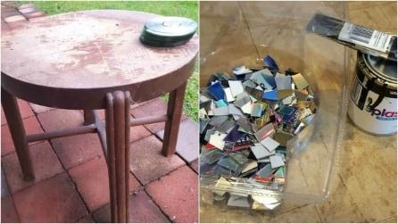 Come riciclare dei vecchi CD in modo creativo: l'idea vi stupirà