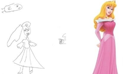 Le principesse Disney disegnate dalle bambine
