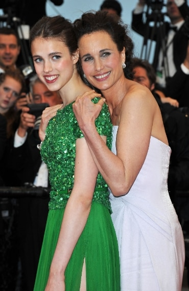 Andie MacDowell e Margaret Qualley