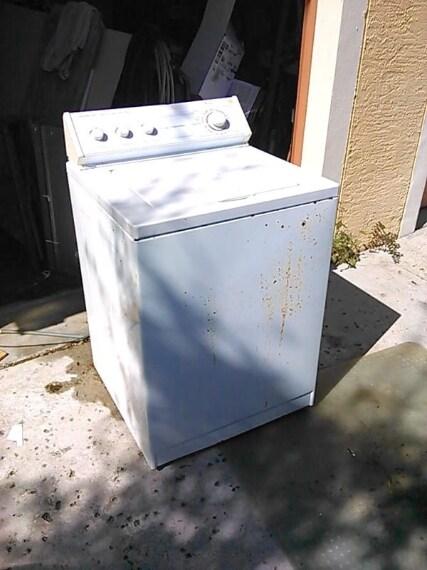 Lavatrice da rottamare