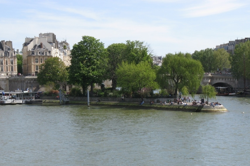 Parigi - Square du Vert-Galant