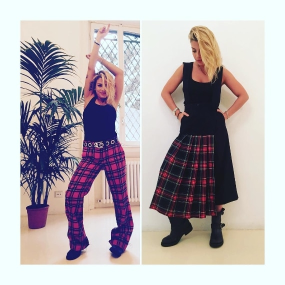 Emma Marrone indossa completi Dondup