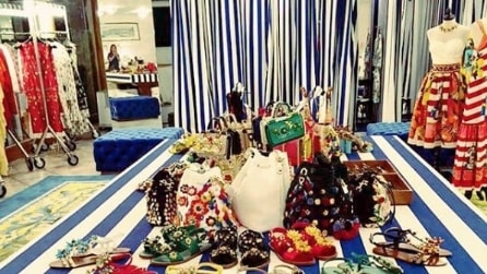 La pop up boutique di Dolce&Gabbana a Napoli
