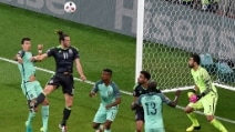 Euro 2016, le immagini di Portogallo-Galles