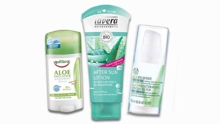 10 prodotti cosmetici a base di aloe vera