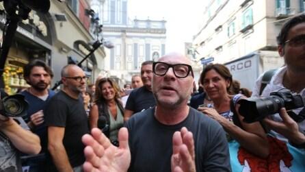 Dolce&Gabbana a passeggio a San Gregorio Armeno