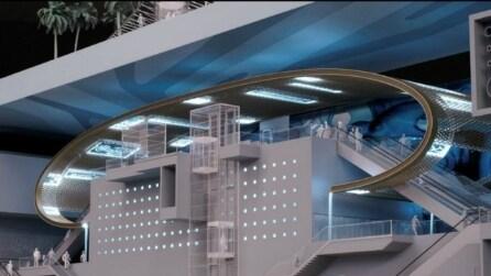 Stazione San Pasquale: ecco come sarà la nuova Metro di Chiaia