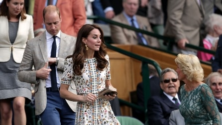 "Il look ""rock"" di Kate Middleton a Wimbledon"