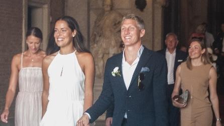 Ana Ivanovic sposa a Venezia: i due abiti della sposa