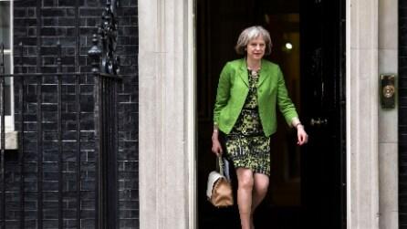 I look di Theresa May, la seconda premier britannica donna della storia