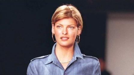 Linda Evangelista prima e dopo, com'è cambiata la top model