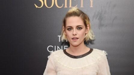 """Il look di Kristen Stewart alla prima di """"Café Society"""""""