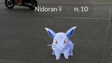 Anche a Napoli la Pokémon Go mania