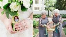 Il padre della sposa è scomparso per un cancro: il gesto della ragazza è commovente