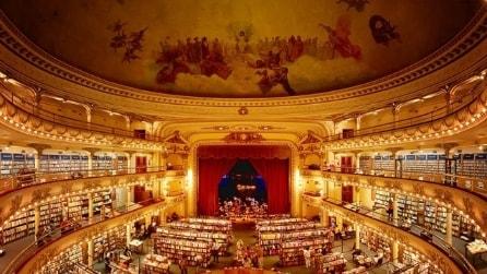 Oggi è una delle più belle libreria del mondo ma non immaginerete mai cos'era prima