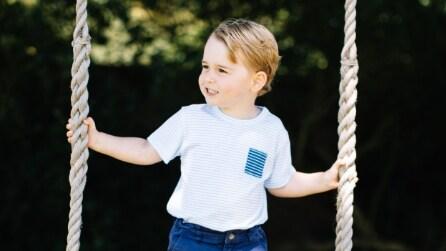 Il principe George a 3 anni è già icona di stile
