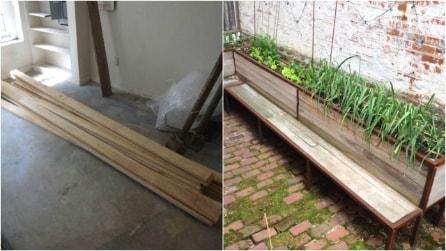 Come costruire una panchina in legno per il giardino: un originale progetto fai da te