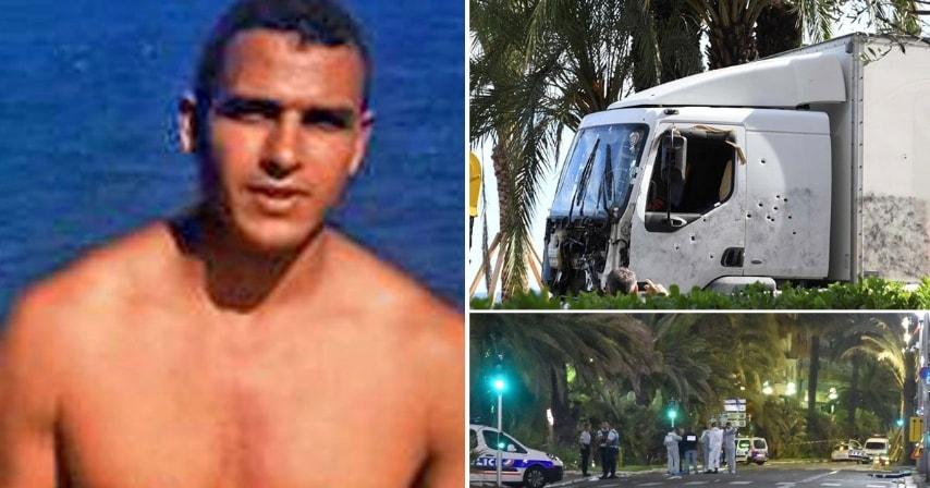 Il tunisino autore della strage di Nizza del 14 luglio scorso. Nell'attentato sono rimaste uccise ottantaquattro persone, tra cui sei italiani.