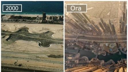 Come cambiano le città: 13 famose metropoli prima e dopo