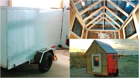 Come costruire una mini-casa mobile da sogno