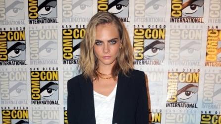 Il nuovo taglio di capelli di Cara Delevingne