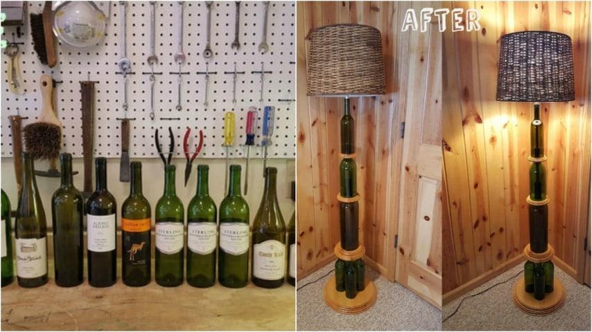 Con questo progetto creativo potete realizzare con le vostre mani una lampada di design.