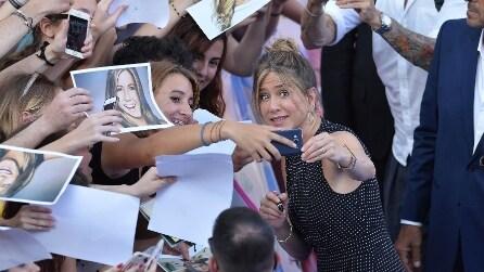 Le foto di Jennifer Aniston al Giffoni Film Festival 2016