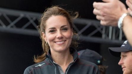 Il look sportivo di Kate Middleton: è una vera principessa anche in tuta