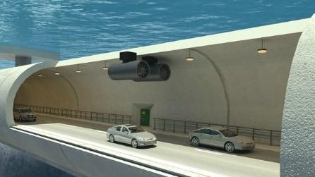 Ecco il tunnel soottomarino della Norvegia