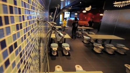 Magic Restroom Cafe, il primo ristorante che sembra un bagno