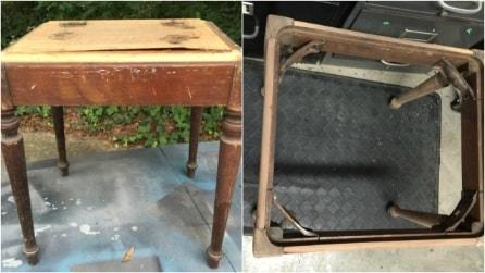 Come riciclare una vecchia panca di legno: la trasformazione vi stupirà