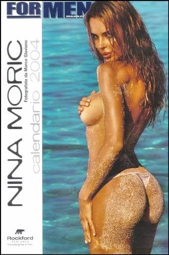 For Men Calendario.Il Calendario Hot 2004 Di Nina Moric