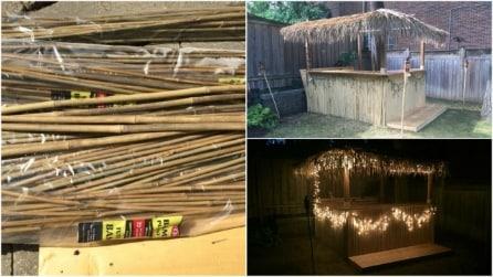 Come costruire un chiosco hawaiano in giardino: l'idea perfetta per l'estate