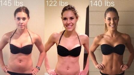 Riacquista lo stesso peso precedente alla gravidanza ma con un corpo diverso: il segreto della blogger