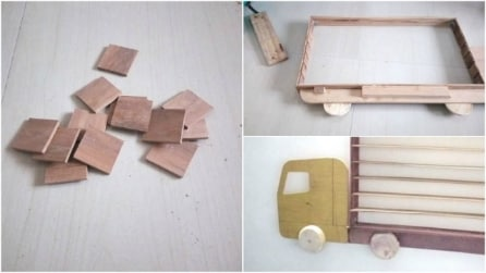 Un papà progetta uno scaffale speciale per suo figlio: l'idea-regalo vi stupirà