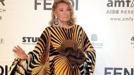 Marta Marzotto: i caftani più belli indossati dalla regina di stile