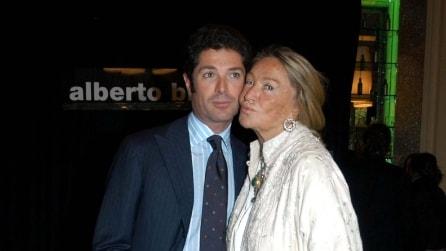 Marta Marzotto e il figlio Matteo