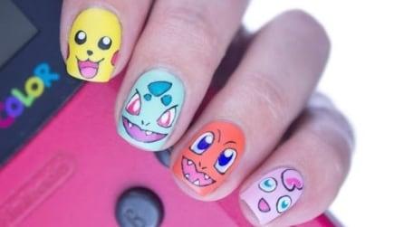 Pokémon nail art