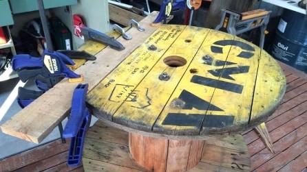 Trova un vecchio rullo e lo ricicla: ciò che riesce a creare vi stupirà