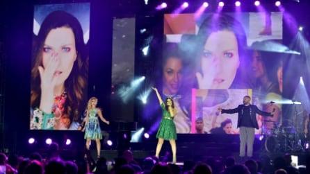 Le foto del concerto di Laura Pausini a Miami