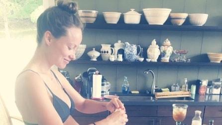 Olivia Wilde le foto più belle dell'attrice incinta