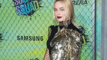 """L'abito unicorno di Margot Robbie alla prima di """"Suicide Squad"""""""