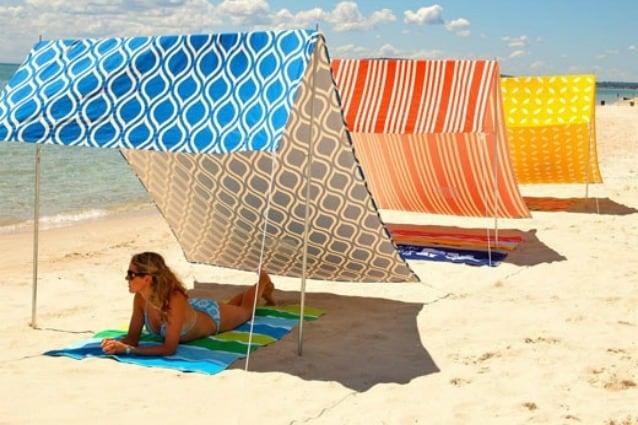 Ombrellone Da Spiaggia Pieghevole.I 5 Ombrelloni Da Spiaggia Piu Originali Dell Estate