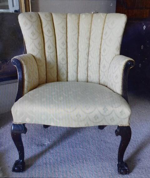 La sedia acquistata