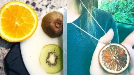 Come fare gioielli con la frutta essiccata: un'idea originale e creativa