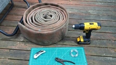 Crea un giardino verticale utilizzando l'idrante anticendio: una tecnica davvero inusuale
