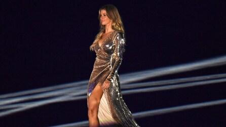 Olimpiadi di Rio 2016: l'abito di Gisele Bundchen per la cerimonia d'apertura