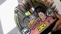 Cal Crutchlow, in Austria casco speciale per la figlia Willow
